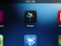 Timber iPad App - Icon Final