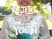 Rejoice in the wife of your youth
