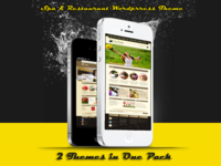 Spa & Restaurant WP Themes in One pack!