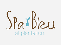 Logo Design Mock-up - Spa Bleu 2