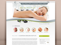 Responsive Website Development - European Skincare Institute