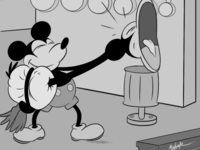 Mickey Steamboat Willie Scene