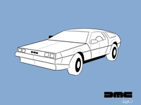 Delorean classic cars collection