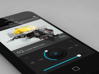 Shimmer Music Player