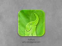 Eco Elephant ios app Icon
