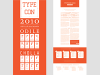 Final TypeCon Poster Design