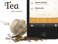 Tea for iOS Website