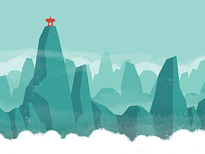 Dribbblemountains