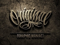 ORIGINAL ✕ Graphic Maniac