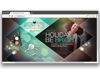 The Bright Box- website