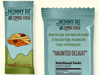 MUMMY PIE AND ZOMBIE FUDGE