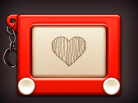 Etch A Sketch Icon