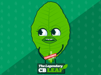CB leaf aka Simpoh air leaf character (ANIMATED)