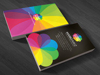 Color Blossom Business Card