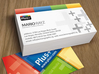 Google Plus+ Business card