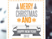 Merry Christmas Card 2012