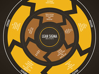Lean Six Sigma Information Design Infographic Poster 2