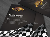 Grandprix Business Card Design