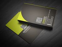 Quick Response Business Card Design Ver 05