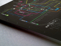 Subway Infographic Design Elements   Grid System Dribbble 01