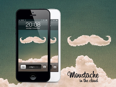 Moustache In The Cloud