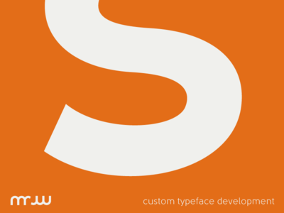 Custom Typeface Development
