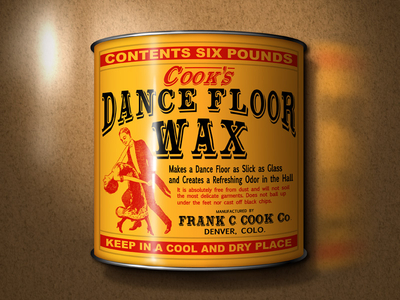 Cook's Dance Floor Wax