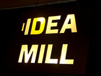 Idea Mill Illuminated Sign
