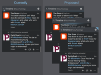 """New tweets"" notifications for Tweetdeck"