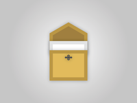 Manila Envelope Icon