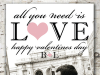 Custom Valentines Design - City Love