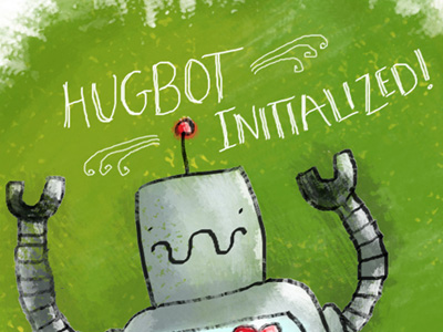 Dribbble_hugbot