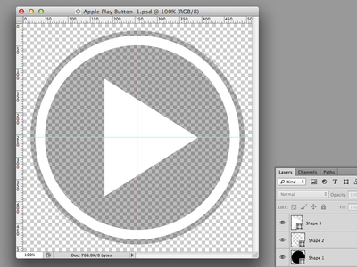 Freebie - Play Button Overlay