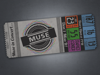 Muse Ticket