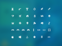 Freebie: Video Game Icon Set
