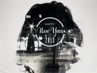 Double Exposure - Happy 2013