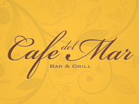 Cafe del Mar logo Concept