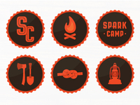Spark Camp Badges
