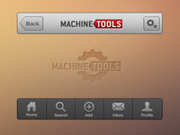 MachineTools UI
