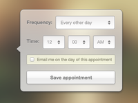 Create an Appointment