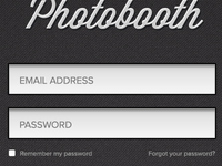 Photobooth Login