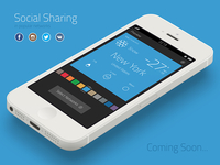 Social sharing in popular networks (Coming Soon...)