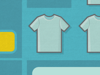 T-Shirt Website - Mockup