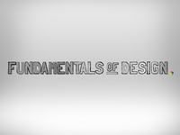 Fundamentals of Design