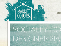 Market Colors Homepage