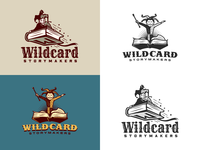 Wildcard Storymakers - Logo concept proposals