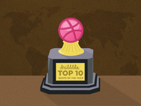 Dribbble Top 10 Shots Of 2011