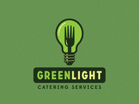 Greenlight Catering Services Logo Proposal - First Draft