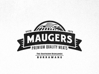 Maugers Meats - Further Logo Exploration - Emblem