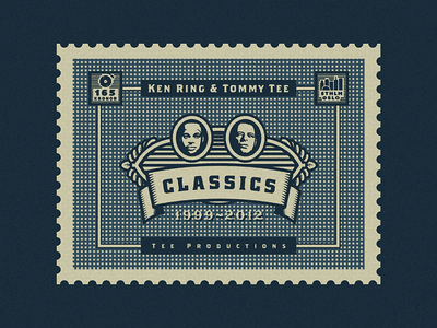 "Stamp for Album Cover Art (Ken Ring & Tommy Tee - ""Classics"")"